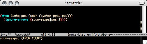 http://nschum.de/src/emacs/highlight-parentheses/highlight-parentheses.png